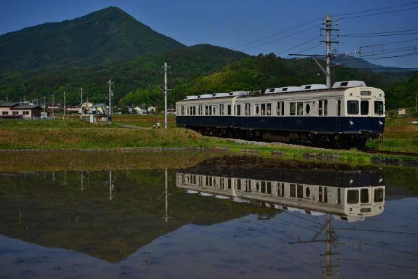 2013年5月25日 上田電鉄別所線 別所温泉~八木沢 7200系7253F