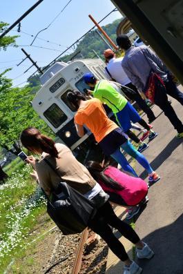 2013年5月25日 上田電鉄別所線 別所温泉 7200系7255F