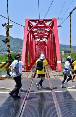 2013年5月25日 上田電鉄別所線 上田~城下 別所線と走ろう、歩こう!! ラン&ウォーク