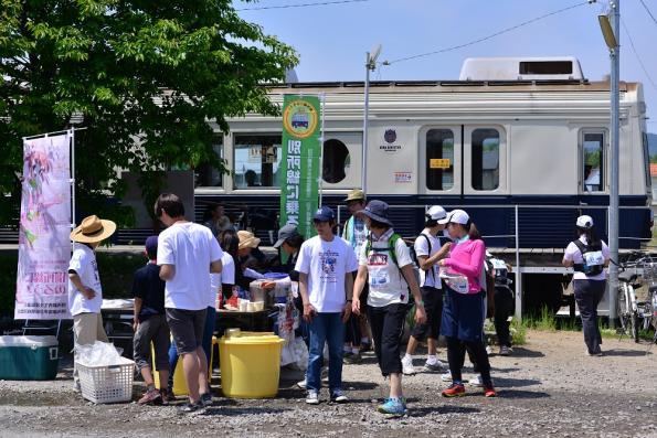 2013年5月25日 上田電鉄別所線 舞田 7200系7253F 別所線と走ろう、歩こう!! ラン&ウォーク