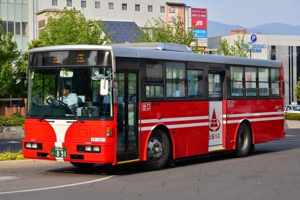 2013年5月25日 上田バス 上田駅 N-963