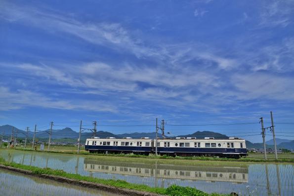 2013年6月3日 上田電鉄別所線 下之郷~中塩田 7200系7255F