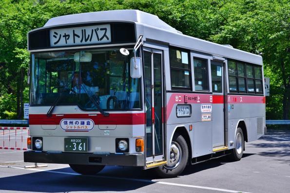 2013年6月3日 上田バス 信州の鎌倉シャトルバス 別所温泉 H-897
