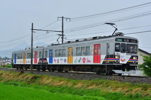 2013年6月26日 上田電鉄別所線 赤坂上~三好町 1000系1003F
