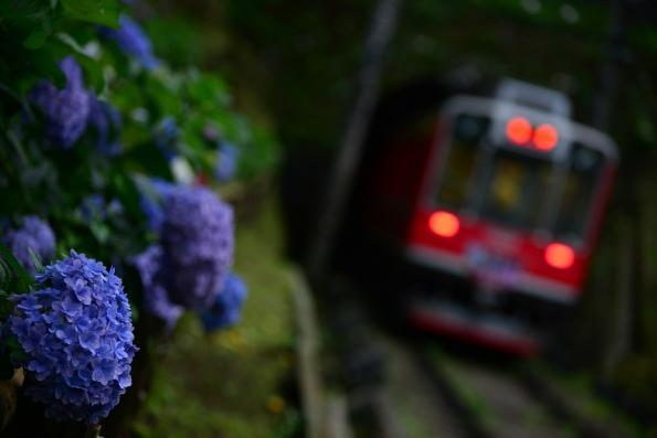2013年7月5日 箱根登山鉄道線 上大平台(信)~仙人台(信) 1000形1001-2201-1002