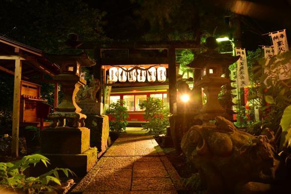 2013年7月5日 箱根登山鉄道線 塔ノ沢 1000形1001-2201-1002