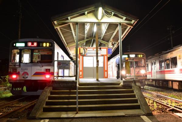2013年7月27日 上田電鉄別所線 下之郷 1000系1002F/1003F