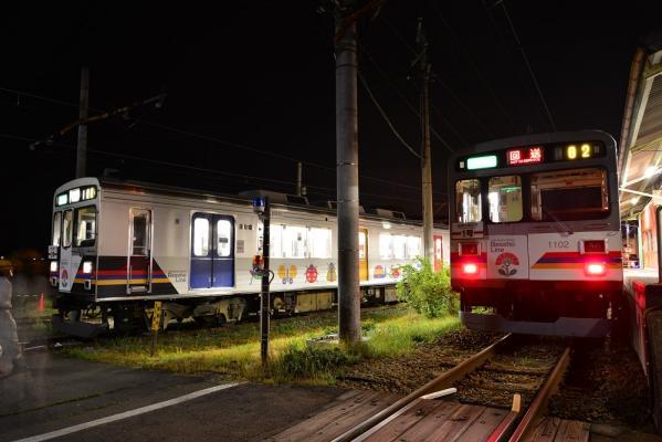 2013年7月27日 上田電鉄別所線 下之郷 1000系1003F/1002F