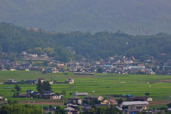2013年7月27日 上田電鉄別所線 舞田~八木沢 7200系7255F