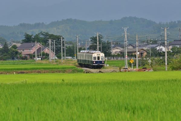 2013年7月27日 上田電鉄別所線 中塩田~下之郷 7200系7255F