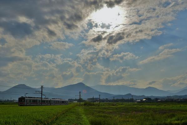 2013年8月25日 上田電鉄別所線 中塩田~下之郷 1000系1004F