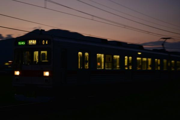 2013年8月25日 上田電鉄別所線 寺下~神畑 1000系1004F
