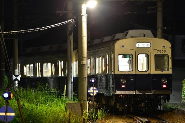2013年8月25日 上田電鉄別所線 下之郷 7200系7255F