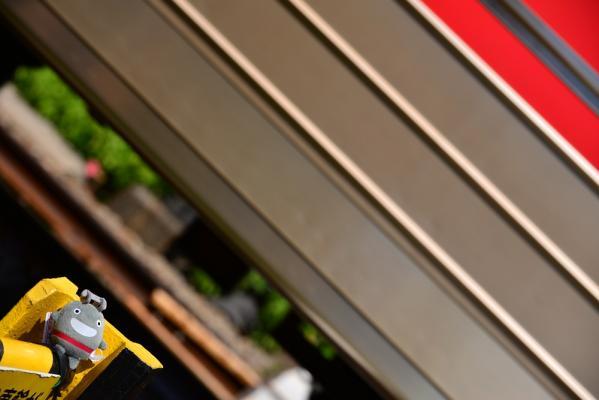 2013年9月1日 東急大井町線 等々力~尾山台 のるるんストラップ