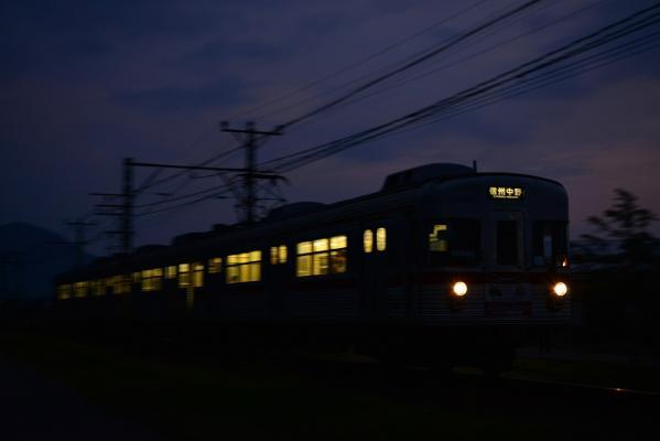 2013年9月22日 長野電鉄長野線 延徳~信州中野 3500系L2編成
