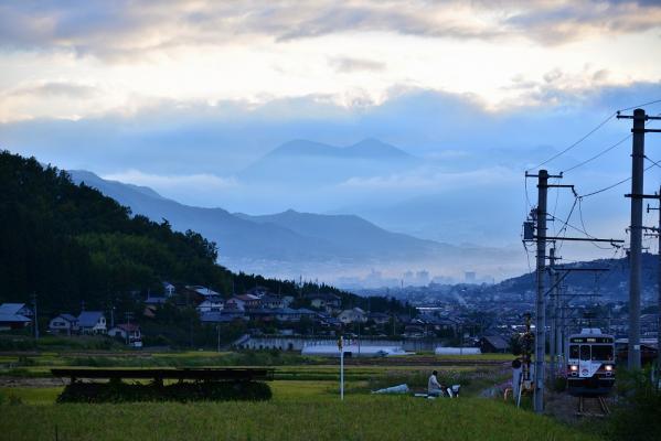 2013年9月23日 上田電鉄別所線 八木沢~別所温泉 1000系1003F