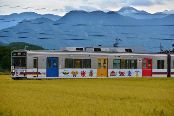 2013年9月23日 上田電鉄別所線 舞田~八木沢 1000系1002F
