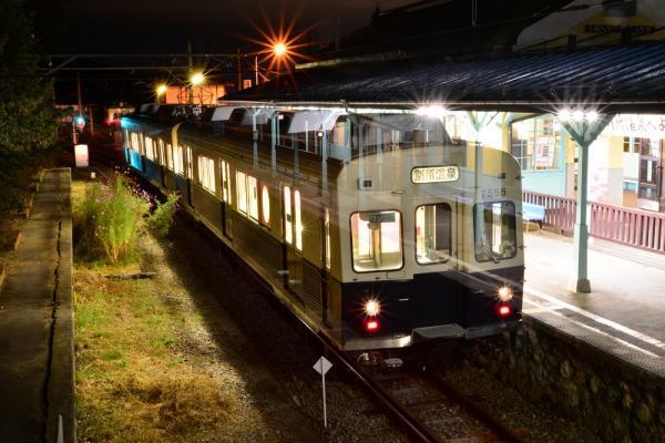 2013年10月10日 上田電鉄別所線 別所温泉 7200系7255F