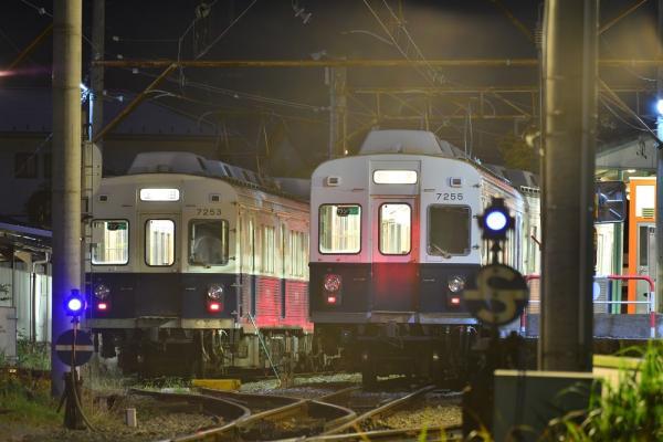 2013年10月11日 上田電鉄別所線 下之郷 7200系7253F/7255F