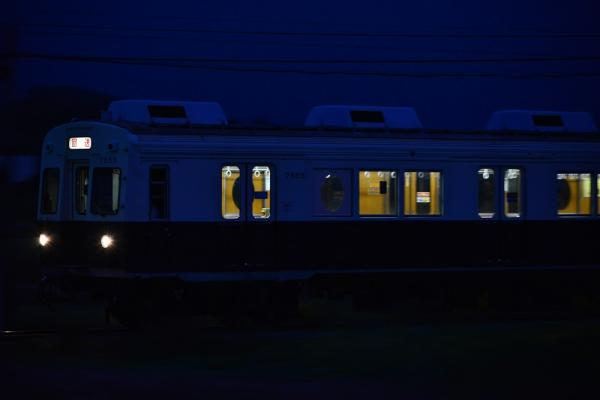 2013年10月11日 上田電鉄別所線 舞田~八木沢 7200系7255F