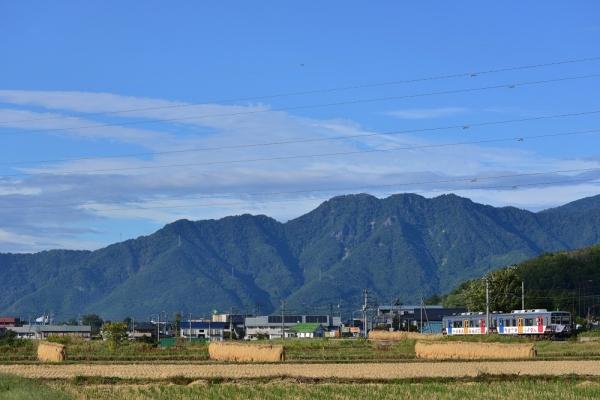2013年10月11日 上田電鉄別所線 下之郷~大学前 7200系7255F