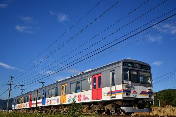 2013年10月17日 上田電鉄別所線 大学前~下之郷 1000系1002F