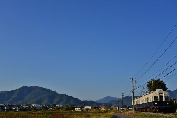 2013年10月28日 上田電鉄別所線 大学前~下之郷 7200系7253F
