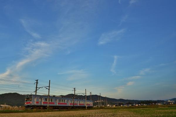 2013年10月28日 上田電鉄別所線 下之郷~中塩田 1000系1001F