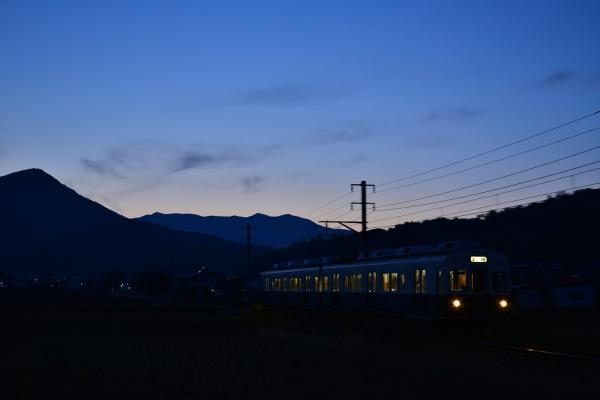 2013年10月28日 上田電鉄別所線 八木沢~舞田 7200系7253F