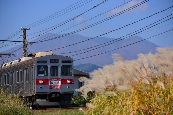2013年10月28日 長野電鉄長野線 朝陽~附属中学前 8500系T5編成