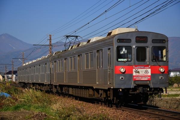 2013年11月17日 長野電鉄長野線 朝陽~附属中学前 8500系T4編成