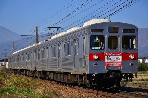 2013年11月17日 長野電鉄長野線 朝陽~附属中学前 8500系T2編成