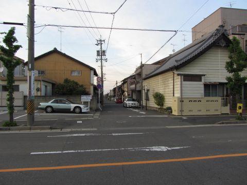 旧東海道 桑名市伝馬町