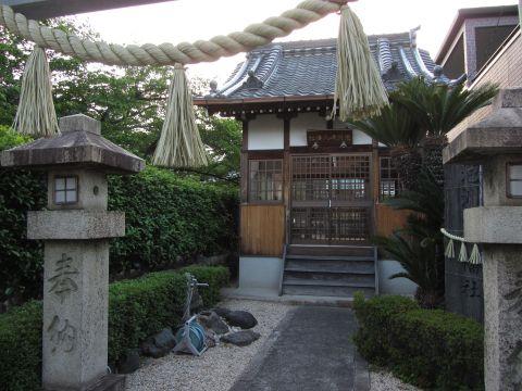 泡洲崎八幡社