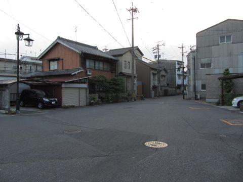 旧東海道 桑名市鍜冶町