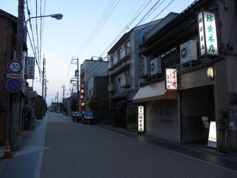 旧東海道 桑名市京町