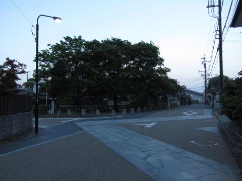 旧東海道 桑名市片町