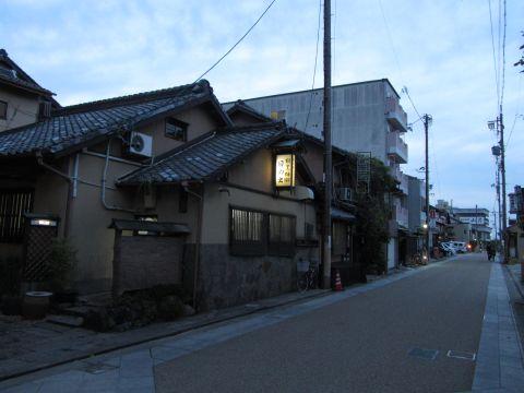 旧東海道 桑名市川口町