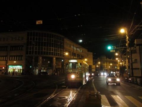 函館市電十字街停留所