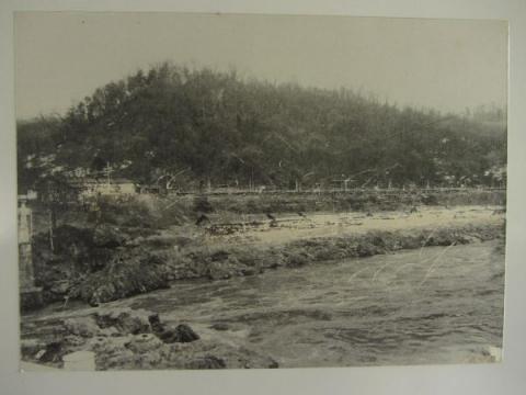 昭和30年代の神居古潭駅