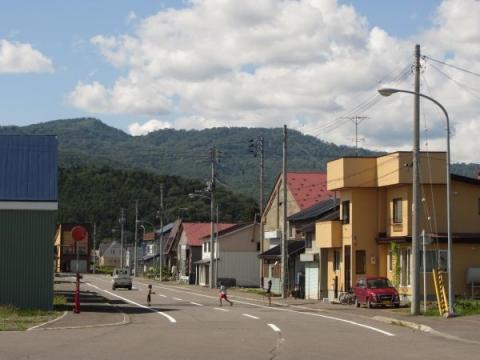 旧幌加内駅前通り