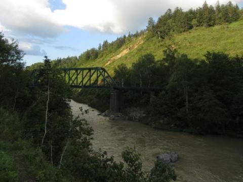 第三雨竜川橋梁とポンコタン渓谷