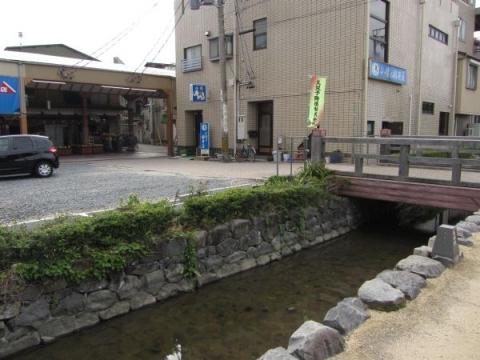 寺町堀と稲荷橋