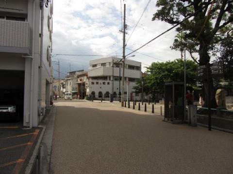 京町見附跡