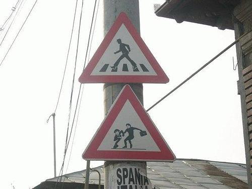 世界の面白標識3