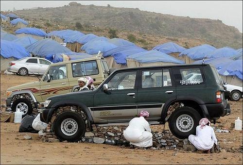 サウジアラビアの車1