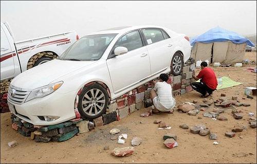 サウジアラビアの車2