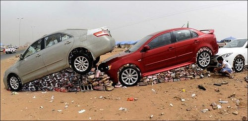 サウジアラビアの車3