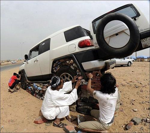 サウジアラビアの車5