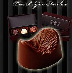 肛門の形をしたチョコ